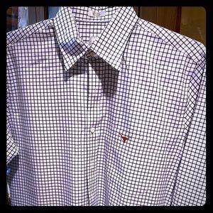 Peter Millar Collegiate Texas Longhorns LS Shirt.